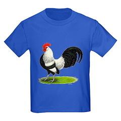 Dutch Silver Rooster Kids Dark T-Shirt