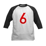Number 6 Baseball Jersey