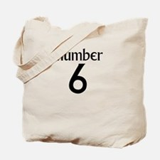 Number 6 Tote Bag