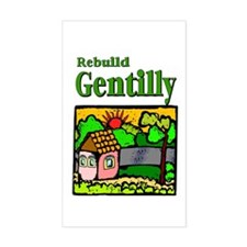 Rebuild Gentilly Rectangle Decal