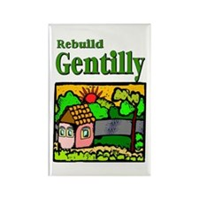 Rebuild Gentilly Rectangle Magnet (10 pack)