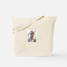 Playful Zebra Tote Bag