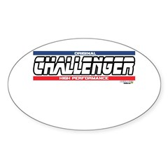 ChallengerX Oval Sticker (50 pk)