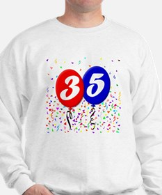 35th Birthday Sweatshirt