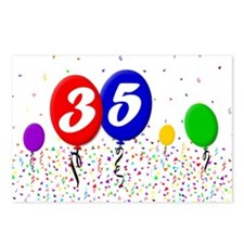 35th Birthday Postcards (Package of 8)