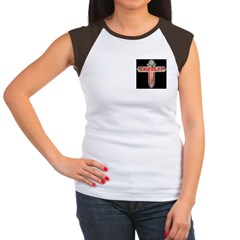 Crosley Car Owners Club Women's Cap Sleeve T-Shirt