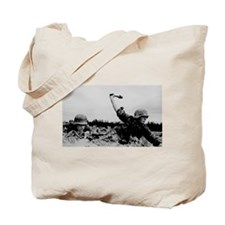 Funny Wehrmacht Tote Bag