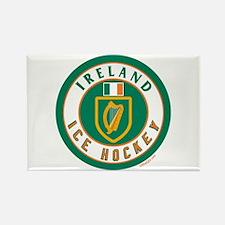 IE Ireland(Eire/Erin) Hockey Rectangle Magnet