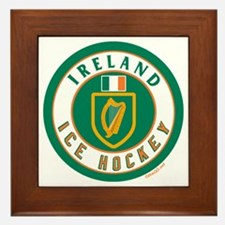 IE Ireland(Eire/Erin) Hockey Framed Tile