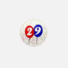 29th Birthday Mini Button