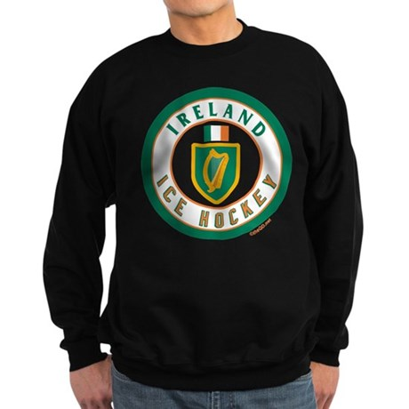 IE Ireland(Eire/Erin) Hockey Sweatshirt (dark)