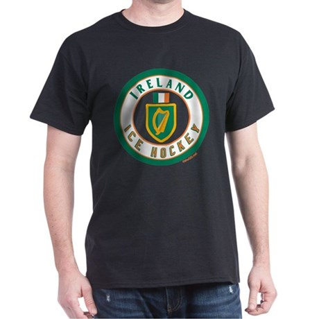 IE Ireland(Eire/Erin) Hockey Dark T-Shirt