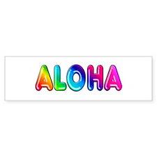 "Bumper Sticker ""Aloha"""