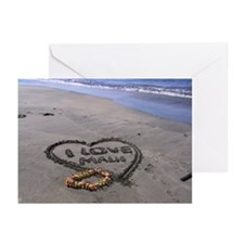 "Greeting Cards (Pk of 20) ""I love Maui"""