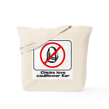 cauliflower ear Tote Bag