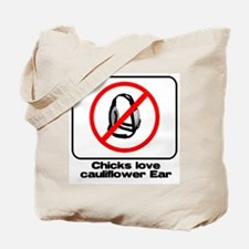 cauliflower ear Tote Bag