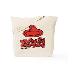 Condom Play Safe (left) Tote Bag