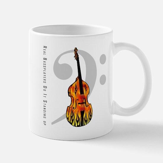 Real Bass Players Do It Stand Mug