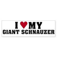I Love My Giant Schnauzer