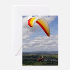 Flying solo Greeting Card