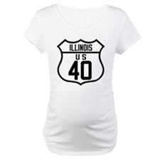 Route 40 Shield - Illinois Shirt