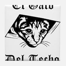 El Gato del Techo Tile Coaster