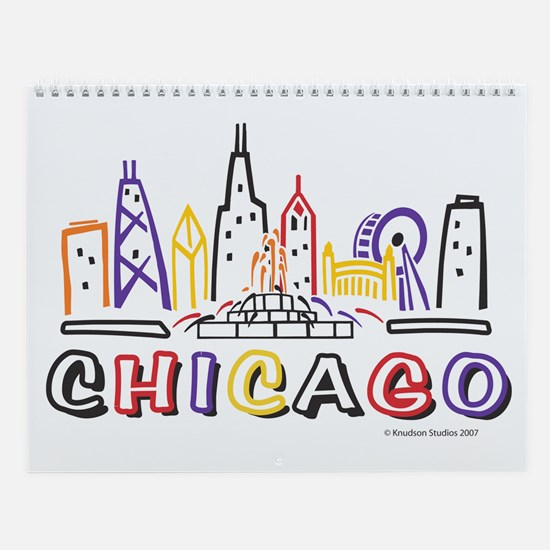 Chicago Calendar Wall Calendar