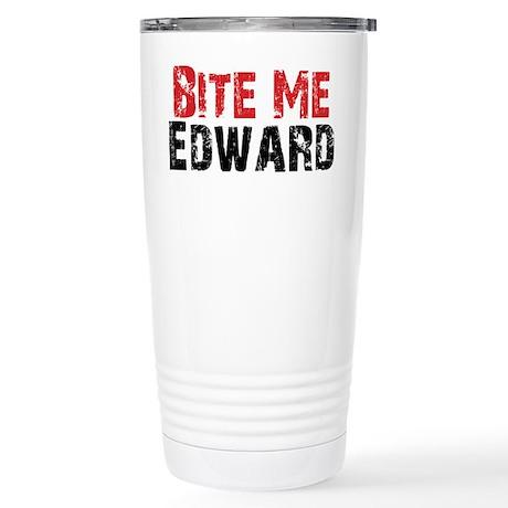 Bite Me Edward Stainless Steel Travel Mug