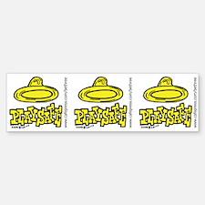 Condom Play Safe (right) Bumper Bumper Bumper Sticker