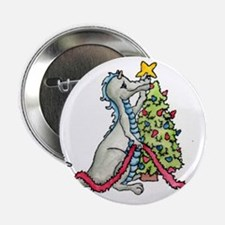 "Christmas Dragon Color 2.25"" Button (100 pack)"