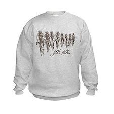 JUST RIDE CYCLING Sweatshirt