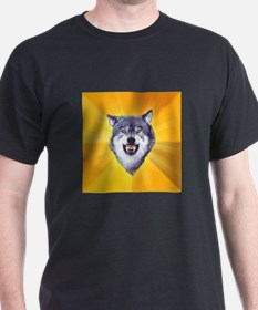 Courage Wolf T-Shirt