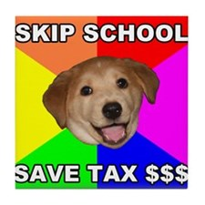 Save Tax $$$ Tile Coaster