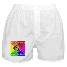 Live For Free Boxer Shorts