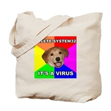 Delete Viruses Tote Bag