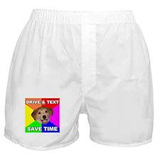 Save Time Boxer Shorts