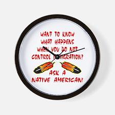 Controling Immigration Wall Clock