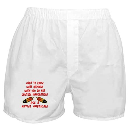 Controling Immigration Boxer Shorts