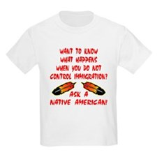 Controling Immigration T-Shirt
