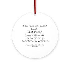 Winston Churchill 39 Ornament (Round)