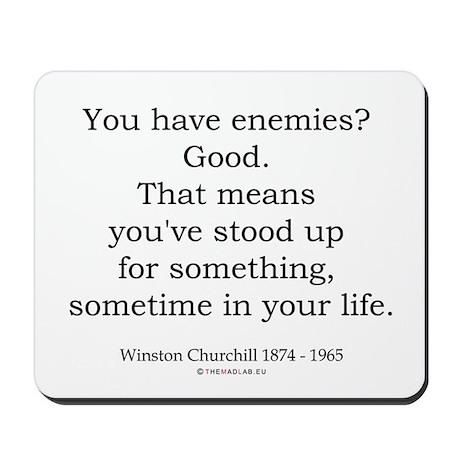 Winston Churchill 39 Mousepad
