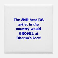 Best BS artist! Tile Coaster