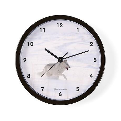 Wolf Wall Clock (Alpha Female)