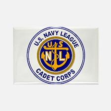 Navy League Color Rectangle Magnet
