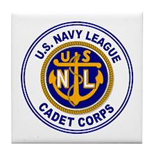Navy League Color Tile Coaster