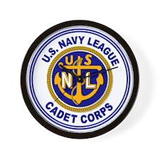 Navy League Color Wall Clock