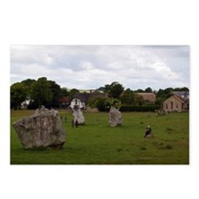 Cloudy Avebury Postcards (Package of 8)