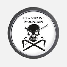 Mountain Family Wear Wall Clock