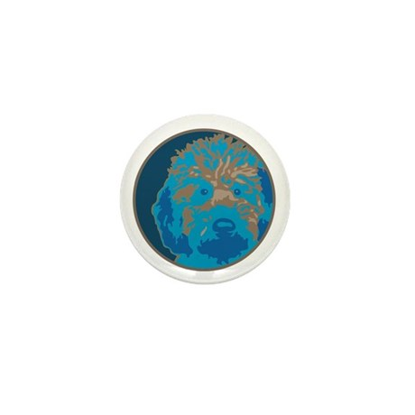 Labradoodle 2- Mini Button