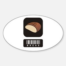 Bread Lovers Oval Decal